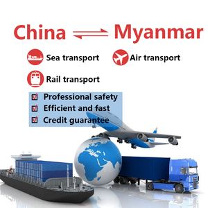 China's freight line to Myanmar, air/sea transport/train transport route